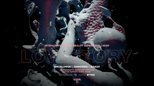 Lovestory | live VR performance + Extended Q&A